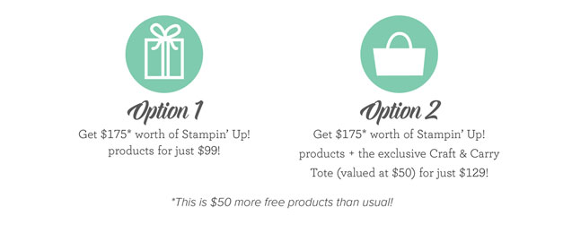 Join My Team of ProCraftinators with two options during Sale a Bration https://ida.stampinup.com/en/?demoid=2059166