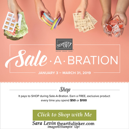 Last Day to shop Sale a Bration 2019 http://bit.ly/ShopwithSara