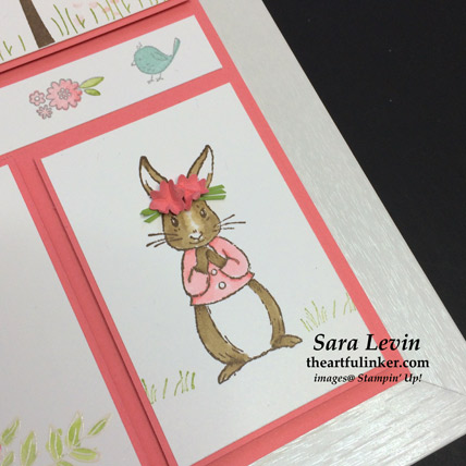 Spring Sampler Fable Friends bunny detail - from theartfulinker.com