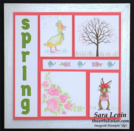 Spring Sampler from theartfulinker.com