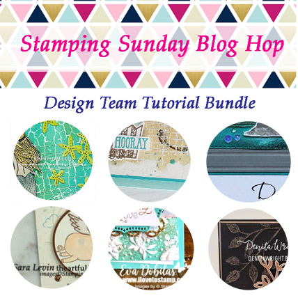 Stamping Sunday March 2019 Tutorial Bundle available FREE with purchase or purchase separately from theartfulinker.com