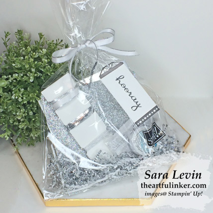 Well Written team gift for promotion to Silver - from theartfulinker.com