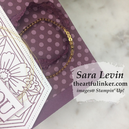 Believe You Can gift bag favor with video and free tutorial download from theartfulinker.com