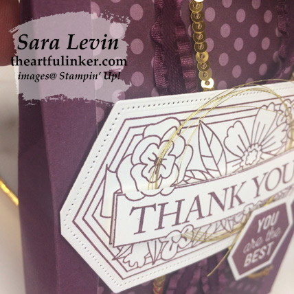 Believe You Can gift bag favor, detail - order your supplies from theartfulinker.com