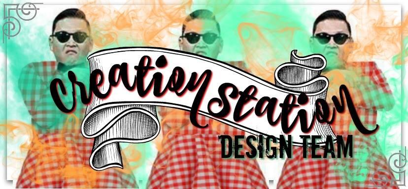Creation Station Gingham Style Blog Hop Header