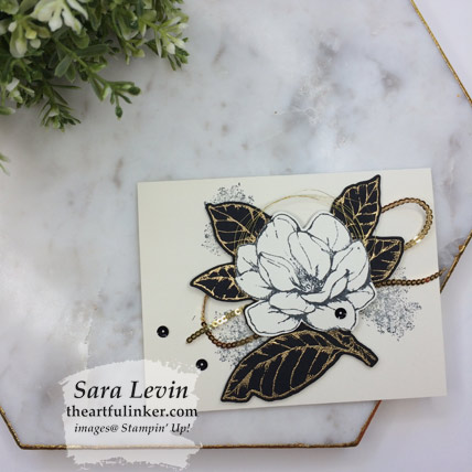 Learn how to make this Good Morning Magnolia card for Stamping Sunday and shop for the supplies from theartfulinker.com
