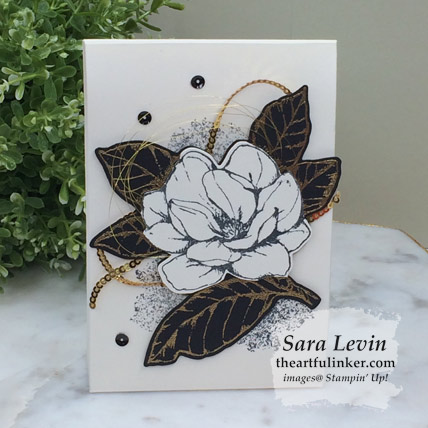 Learn how to make this Good Morning Magnolia gift box for Stamping Sunday and shop for the supplies from theartfulinker.com
