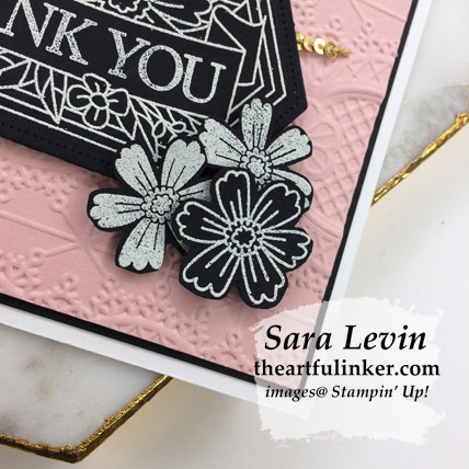 Believe You Can Sneak Peek Card, flower detail. Shop for Stampin' Up! products at theartfulinker.com