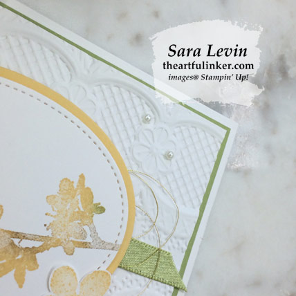 Butterfly Wishes Sneak Peek card. Shop for Stampin' Up! products at theartfulinker.com