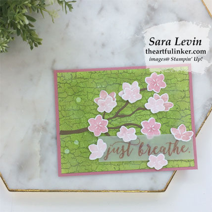Learn how to make this Colorful Seasons with Crackle Paint card. Shop for Stampin' Up! products at theartfulinker.com
