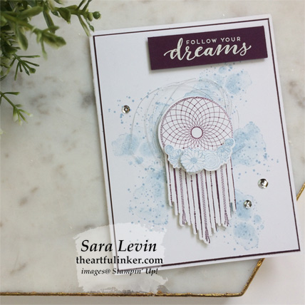 Learn how to make this Follow Your Dreams graduation card. Shop for Stampin' Up! products at theartfulinker.com