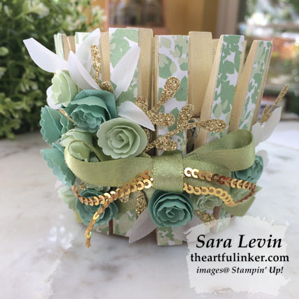 Garden Lane votive holder for Home Decor SU Style Blog Hop May 2019. Shop for Stampin' Up! products at theartfulinker.com