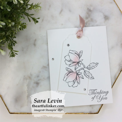 Good Morning Magnolia casual stamping card. Shop for Stampin' Up! products at theartfulinker.com