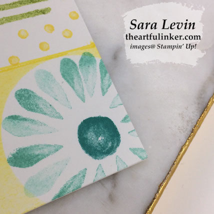 Incredible Like You for TGIFC211, flower detail. Shop for Stampin' Up! products at theartfulinker.com