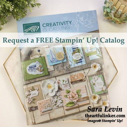 Request a 2019-20 Stampin' Up! Annual Catalog. Shop for Stampin' Up! products at theartfulinker.com