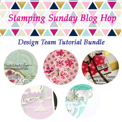 Shop for Stampin' Up! Products with theartfulinker.com and receive the Stamping Sunday May 2019 Tutorial Bundle