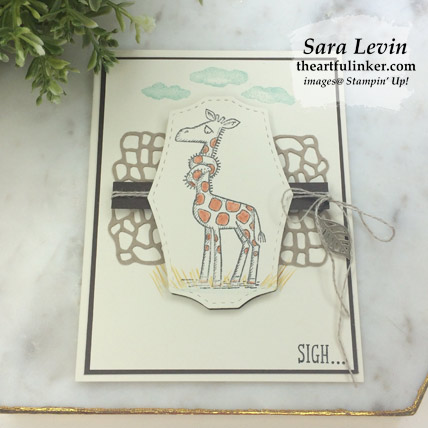 Back on Your Feet Three Ways, avid card FREE tutorial.  Shop for Stampin Up products at theartfulinker.com