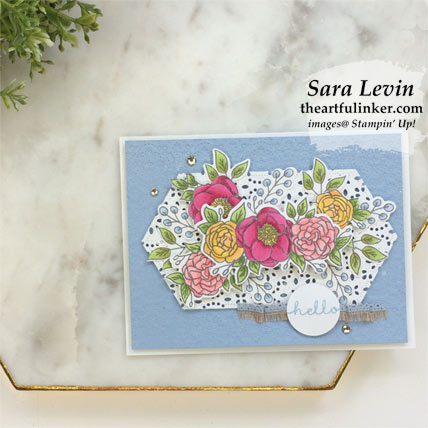 Bloom and Grow for TGIFC217 card with FREE tutorial download. Shop for Stampin Up products at theartfulinker.com