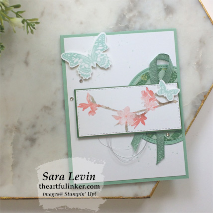 Butterfly Wishes with Garden Lane card. Shop for Stampin Up products at theartfulinker.com
