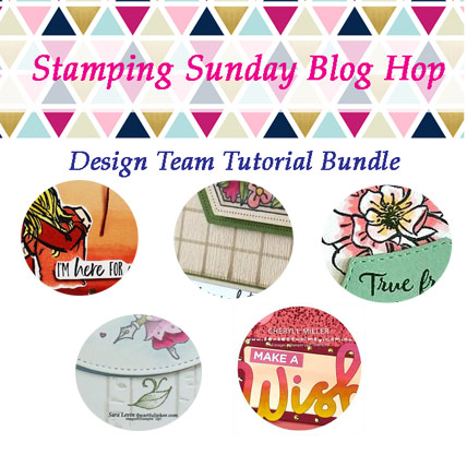 Stamping Sunday June 2019 Tutorial Bundle. Get it FREE with a Stampin Up product purchase at theartfulinker.com