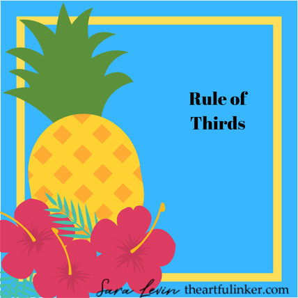 Learn about the Rule of Thirds and shop for Stampin Up products at theartfulinker.com
