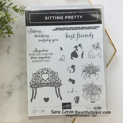 Sitting Pretty stamp set. Shop for Stampin Up products at theartfulinker.com
