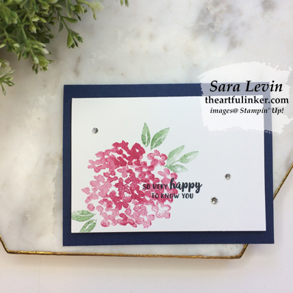 Beautiful Friendship clean and simple card. Shop for Stampin' Up! products at theartfulinker.com