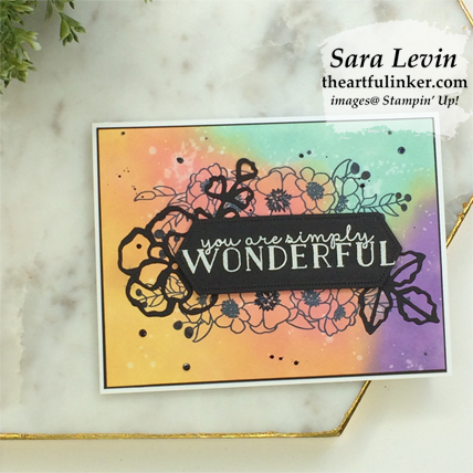 Learn how to make this Bloom and Grow with Faux Oxide Ink Technique card with a FREE tutorial download. Shop for Stampin Up products at theartfulinker.com
