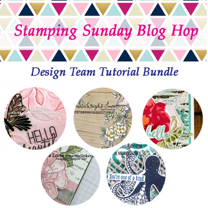 Get the July 2019 Stamping Sunday Tutorial Bundle FREE with a $40 product purchase