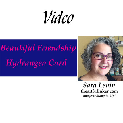 Softly Feminine Beautiful Friendship card video. Shop for Stampin Up products at theartfulinker.com