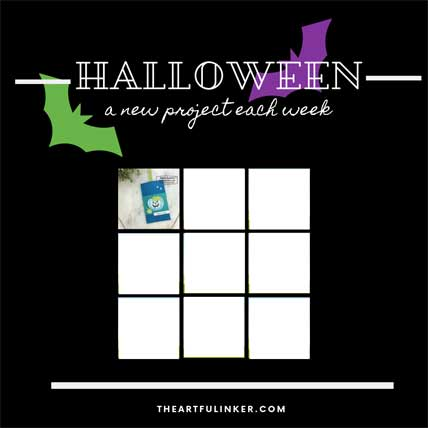 Get the 9 Weeks of Halloween tutorials, week 1. Shop for Stampin Up products at theartfulinker.com