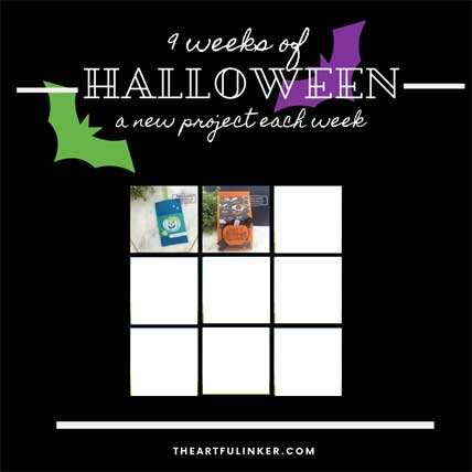 Get the 9 Weeks of Halloween Tutorial Bundle FREE! Shop for Stampin Up products at theartfulinker.com