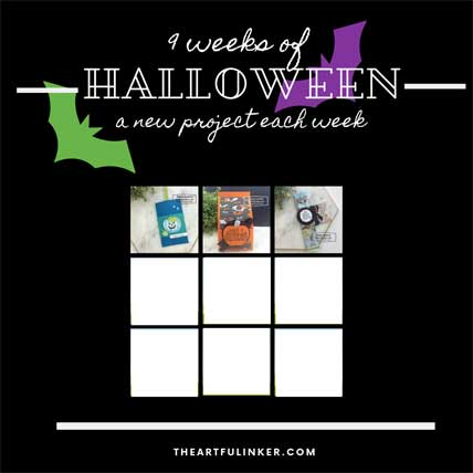 9 Weeks of Halloween Tutorial Bundle Week 3. Shop for Stampin Up products at theartfulinker.com