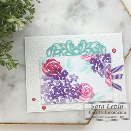 Learn how to make this Beautiful Friendship for TGIFC223 card. Shop for Stampin Up products at theartfulinker.com
