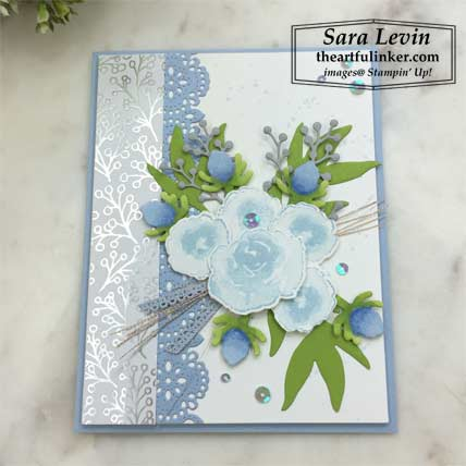 First Frost with Feels Like Frost card with FREE tutorial. Shop for Stampin Up products at theartfulinker.com