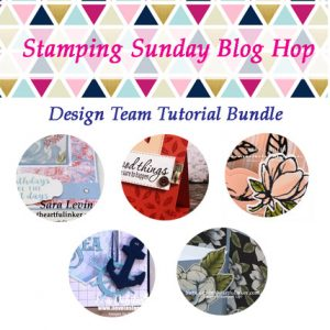 FREE Stamping Sunday August 2019 Tutorial Bundle - Fancy Folds. Shop for Stampin Up Products at theartfulinker.com