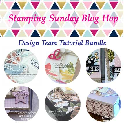 Stamping Sunday September 2019 Tutorial Bundle includes 6 beautiful packaging projects. Shop for Stampin Up products at theartfulinker.com