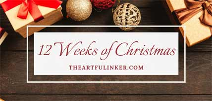 12 Weeks of Christmas header. Shop for Stampin Up products at theartfulinker.com