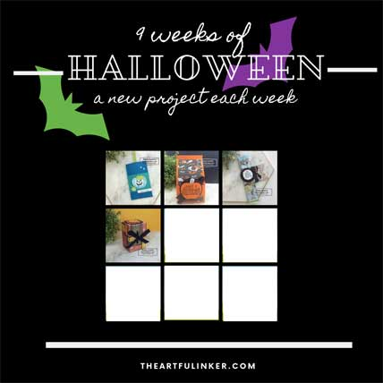 9 Weeks of Halloween Tutorial Bundle, Week 4. Shop for Stampin Up products at theartfulinker.com