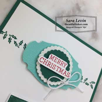 Cup of Christmas for Fast Friday stepped up Christmas card, sentiment. Shop for Stampin Up products at theartfulinker.com