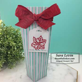 Leti It Snow Lotion Tube for 12 Weeks of Christmas. Shop for Stampin Up products at theartfulinker.com