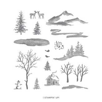 Stampin' Up! Snow Front stamp set. Shop for Stampin' Up! at theartfulinker.com