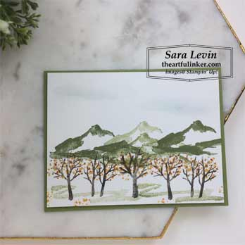 Snow Front Fall Orchard. Shop for Stampin Up products at theartfulinker.com