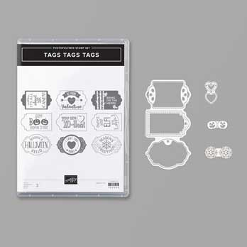 Tags Tags Tags Bundle from the Stampin' Up! Holiday Catalog. Shop for Stampin Up products at theartfulinker.com