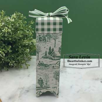 This Toile Tidings for 12 Weeks of Christmas Week 3. Shop for Stampin Up products at theartfulinker.com