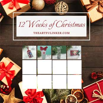 12 Weeks of Christmas Tutorial Bundle, Week 4 project - Christmas Gleaming gift card album. Shop for Stampin Up products at theartfulinker.com