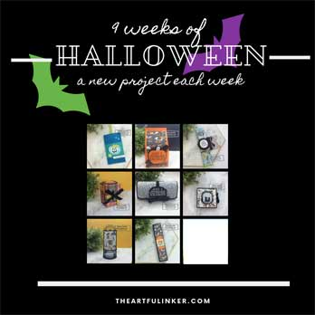 9 Weeks of Halloween Week 8 project. Shop for Stampin Up products at theartfulinker.com