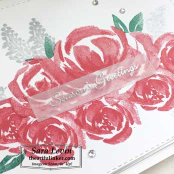 Beautiful Friendship for Christmas, sentiment detail. Shop for Stampin Up products at theartfulinker.com