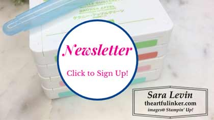 Sign up for theartfulinker.com Newsletter http://eepurl.com/cP6xwT
