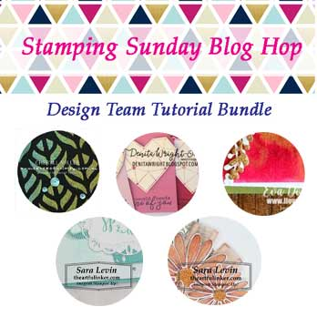 Stamping Sunday October 2019 Tutorial Bundle. Shop for Stampin Up products at theartfulinker.com